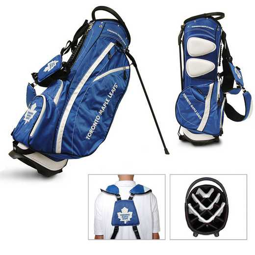 15628: Fairway Golf Stand Bag Toronto Maple Leafs